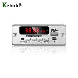 Kebidu placa decodificadora de mp3, bluetooth 5.0, sem fio, usb, mp3 player, cartão tf, usb, fm, módulo de placa remota alto-falante