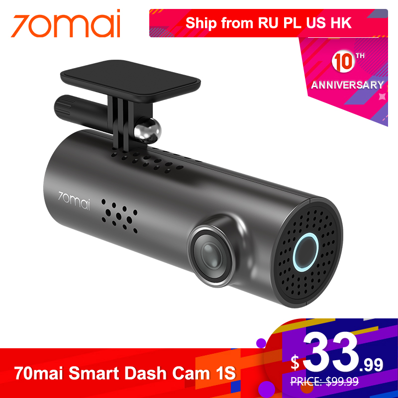 70mai Car DVR Camera Video-Recorder Voice-Control Dash-Cam Wifi Night-Vision 1080P G-Sensor title=