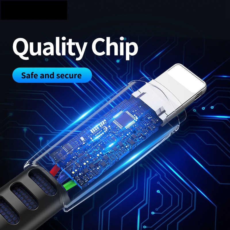 ロック日付 usb ケーブル iphone ケーブル 11 プロマックス Xs Xr × 8 7 6 プラス 6s 5 s ipad 高速充電ケーブル携帯電話充電器のコード
