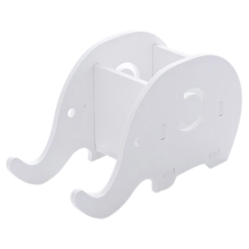 Cell Phone Stand,Cute Elephant IPhone Stand Tablet Desk Bracket With Pen Pencil Holder, Desk Decoration Multifunctional Statione