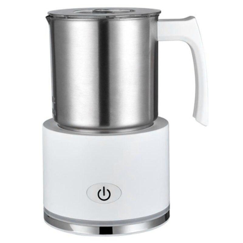 SANQ 250 мл Электрический вспениватель молока Пароварка вспениватель молока вспениватель для домашнего офиса кофейных магазинов с европейско...