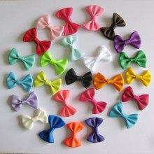 Craft Garment-Accessories Ribbon Bowties Baby-Girl Fashion Mix 50pcs/Lot 35mm--25mm