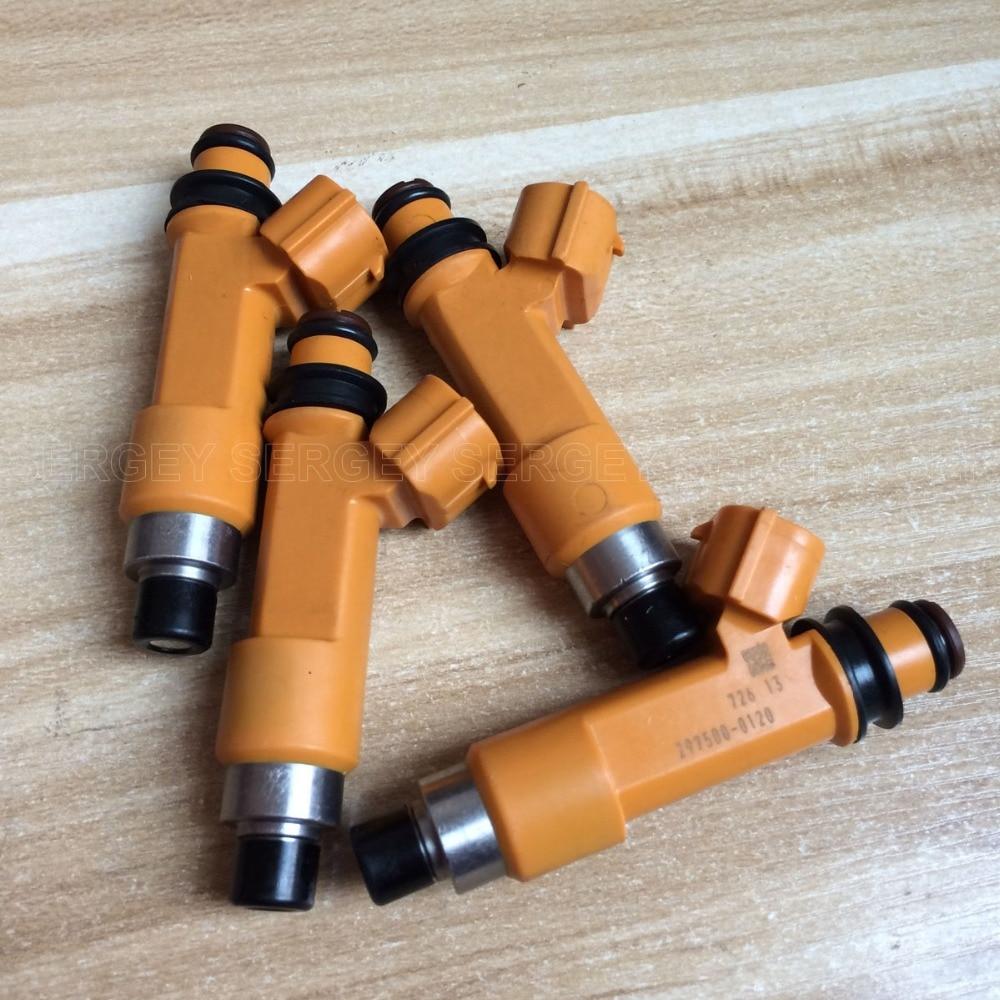 4 x Fuel Injectors 297500-0120 for Suzuki Swift 1.3 1.5