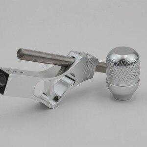 Image 3 - Pommeau de levier de levier de manette de vitesse réglable en aluminium pour Honda Civic Integra CRX B16 B18 B20 D Series