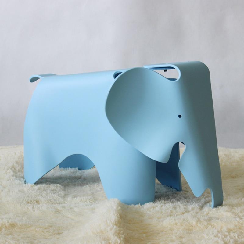 Baby Cartoon Plastic Stool Animal-shaped Stool Stool Cute Household Children Elephant Elephant Stool