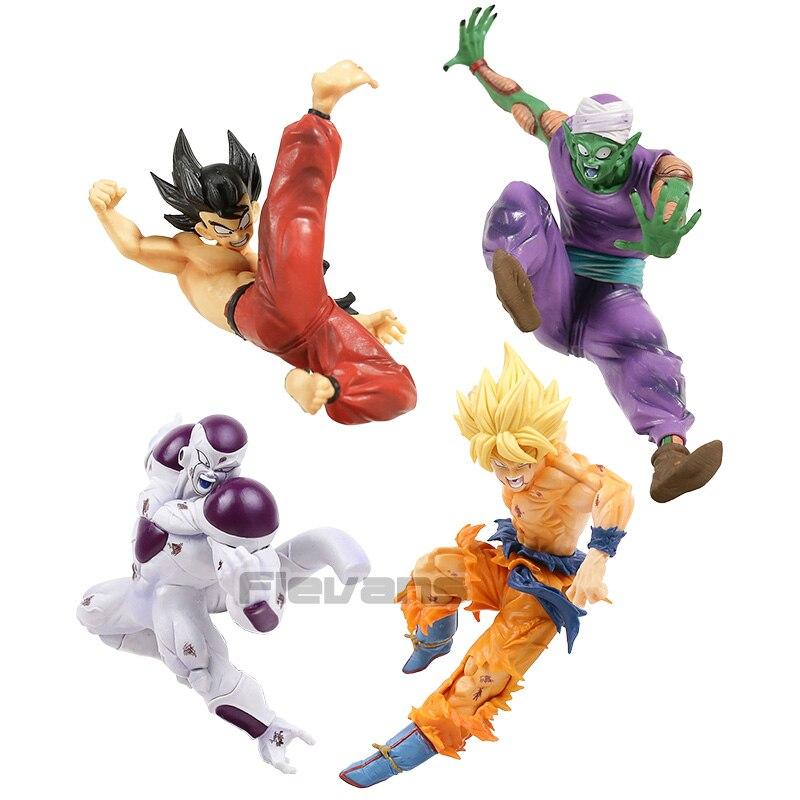 Banpresto DRAGON BALL Z MATCH MAKERS Super Saiyan Son GOKU PVC Figure USA Seller