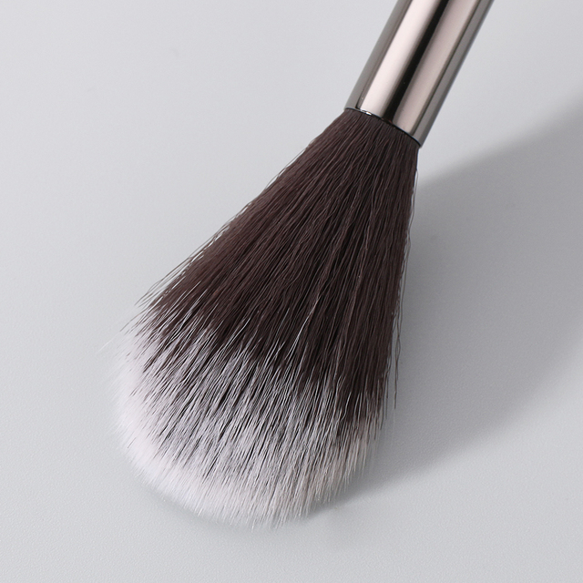BEILI 1 piece Black Professional Synthetic Makeup brushes Highlighter Blending Blush Eyebrow Eyeliner make up brushes 2