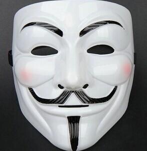 Halloween Christmas Party Movie Cosplay V for Vendetta Hacker Mask Anonymous Guy Fawkes Gift Adult Kids Film Theme Mask Joker