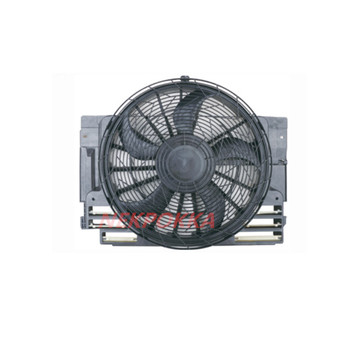 Cooling fan for BMW X5 E53,Condenser electronic fan,water tank fan for BMW X5 E53 2000-2006 image