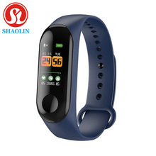 SHAOLIN – Bracelet connecté Bluetooth, moniteur dactivité physique, santé, sommeil, pression artérielle, fréquence cardiaque