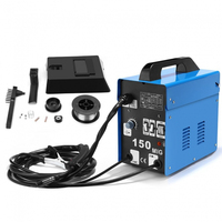 SUNGOLDPOWER MIG Welding Machine without Gas 150A Automatic Feed Flux Core Wire No Gas MIG Welder for Home Use Electric Welders