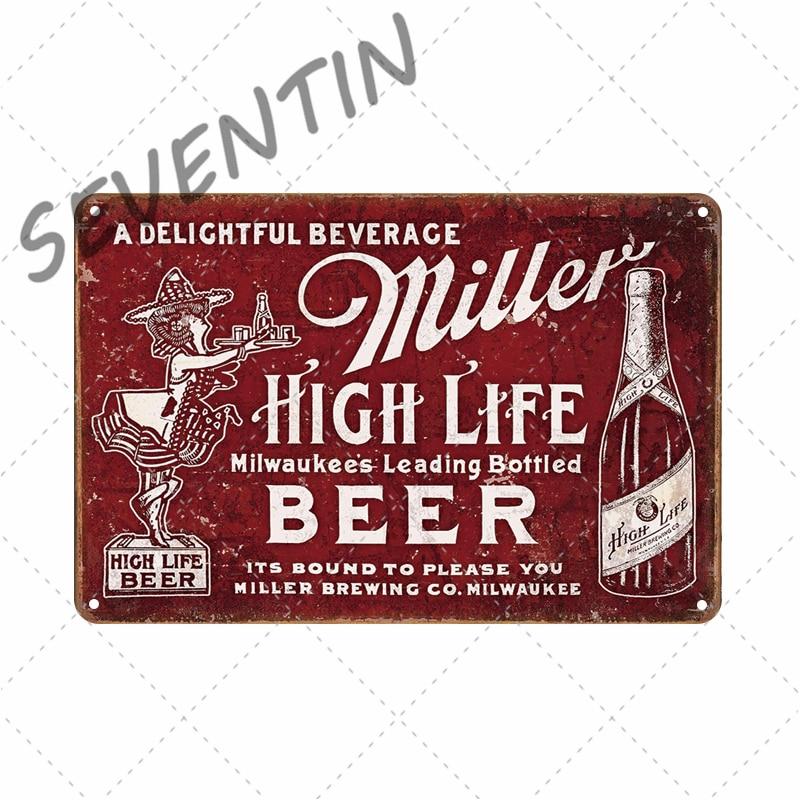 30 cm Peroni Lager Bière Rétro Vintage Wall Display signe métal bouteille bouchon ART
