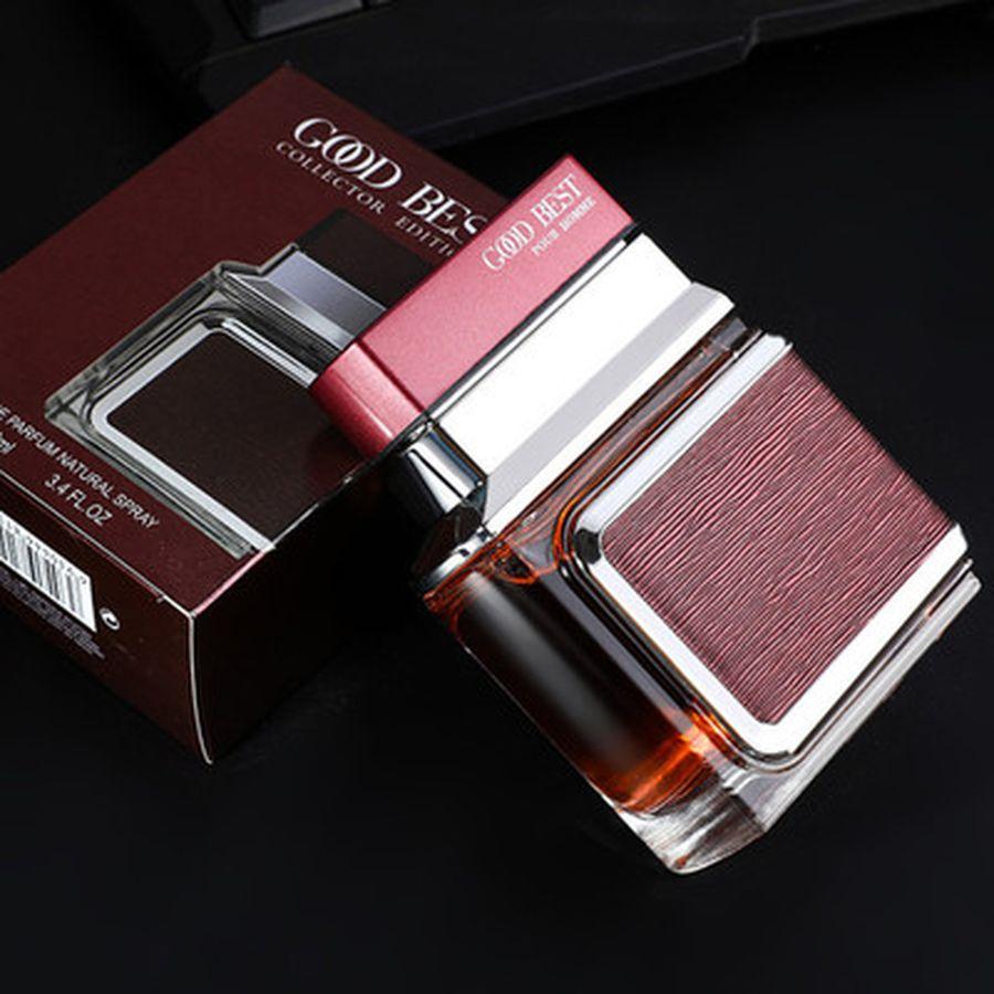 Original 100ml Men Perfume Deodorant Fragrance Male Body Spray Long Lasting Fragrances Bottle Glass Parfum Men Perfume Atomizer