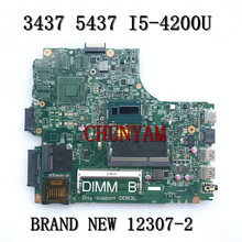 Laptop Motherboard 5437 Dell Inspiron Mainboard100%Test NEW FOR 12307-2 PWB:VKJ89 I5-4200U