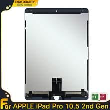 Display lcd para ipad ar 3 2019 a2152 a2123 a2153 a2154 tela de toque digitador assembléia lcd para ipad ar 3 pro 10.5 2nd gen
