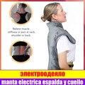 Электрическая грелка для спины  шеи  плеч  облегчение боли  быстрая термотерапия  мыс  моющееся нагревательное одеяло с защитой от перегрева