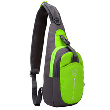 New men and women outdoor sports chest bag slung shoulder casual fashion fitness running multi-function storage