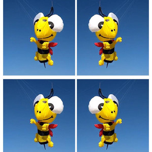 free shipping 3D bee kite pend
