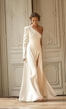 2020 Trouwjurken Mouwloos Satijn Bruidsjurken Vestidos De Novia Tulle HA135