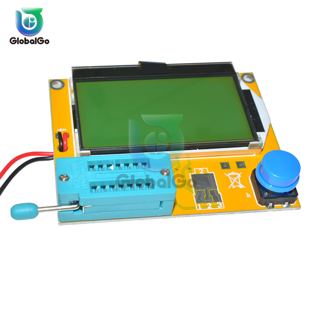 ESR Transistor Tester Diode Triode Capacitância ESR Medidor MOS PNP NPN Tester