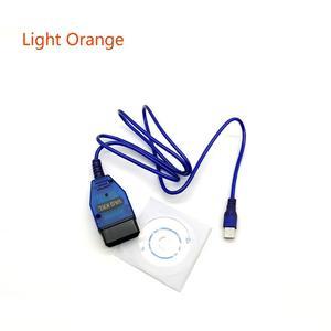 Image 1 - OBD2 CH340 Circuito Integrato Cavo USB KKL VAG COM 409.1 OBD2 OBDII Scanner di Diagnostica Per VW Audi Skoda Sede