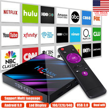 2019 New H96 MAX Smart TV BOX Android 9.0 OS 4G RAM 32/64GB