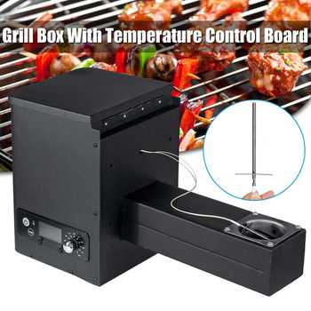 250W Smart Digital Temperature Controller Electric Automatic Wood Pellet Smoker Grill Part Traeger BBQ Accessories