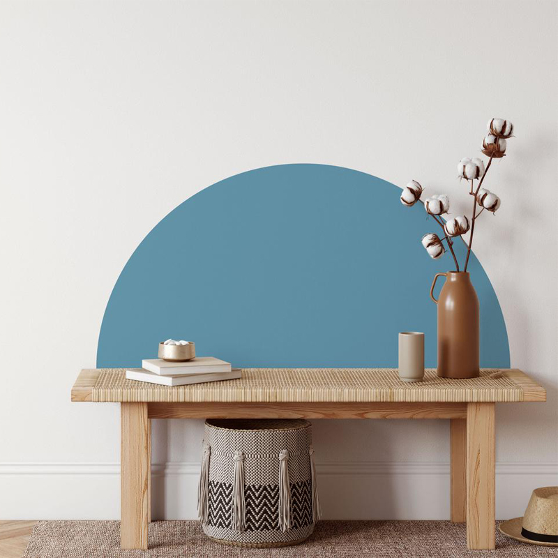 Half Circle Wall Decal Arch Vinyl Sticker Home Decoration Nordic Style Geometric Removable Sticker Exquisite Life E228
