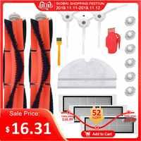 18 Uds Mi Roborock piezas de reemplazo de aspiradora para Mi Robot Roborock S50 S51 Roborock 2 aspiradora Kit de accesorios