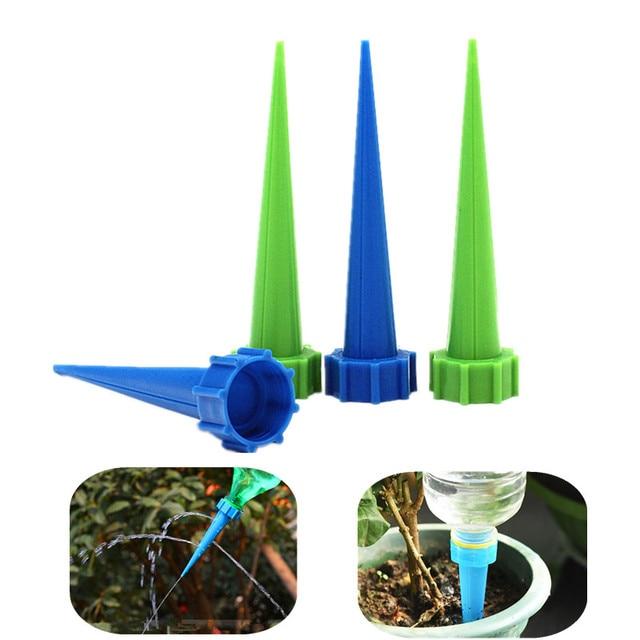40PCS พืชอัตโนมัติรดน้ำชลประทาน SPIKE ควบคุมหยดน้ำหยดกรวยเครื่องมือรดน้ำหยดชลประทานอุปกรณ์