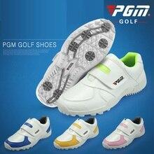 Pgm детская спортивная обувь, кроссовки, мягкие дышащие туфли, детская обувь для гольфа, Уличная обувь для бега, противоскользящая обувь, 4 цвета