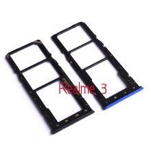 SIM Tray Holder SD Card Reader Slot Adapter for OPPO Realme 3