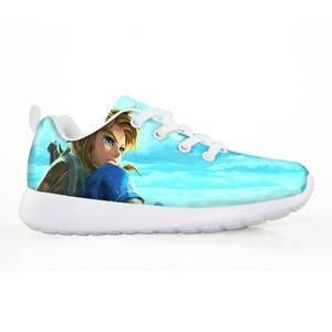 Boys Sneaker Shoes Lights Toddler Girls Autumn Kids Fashion Unisex with Children Zelda