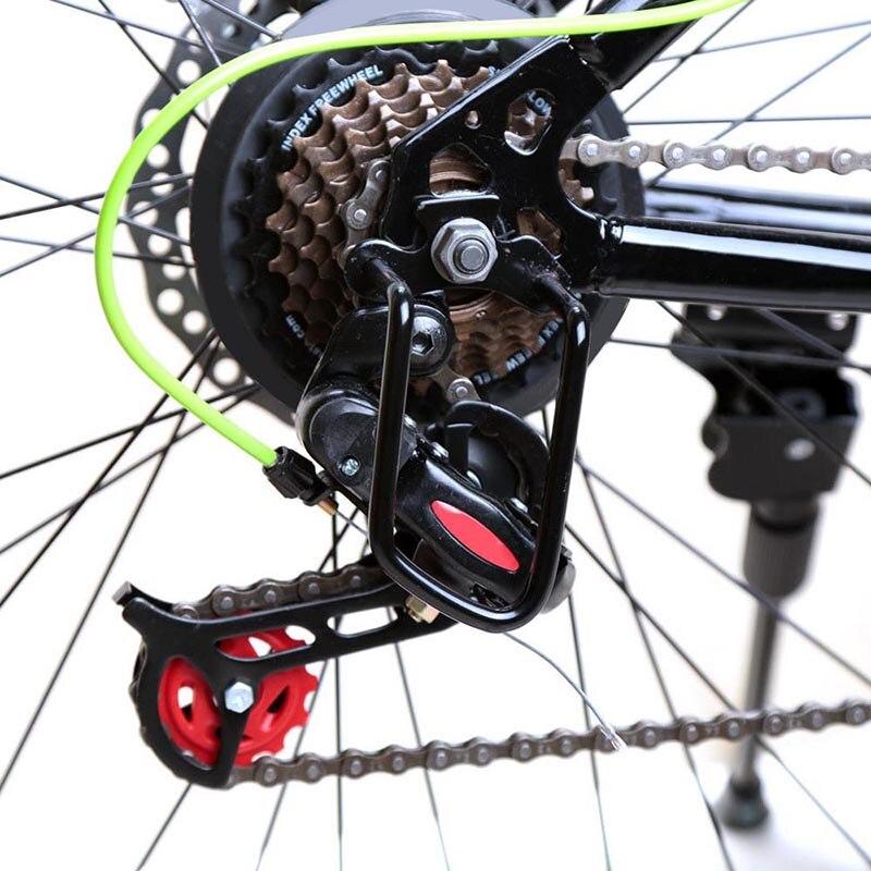 Metalen Cycling Bike Fiets Achter Derailleur Beschermer Transmissie Chain Guard Gear Duurzaam Voor Mtb Road Vouwfietsen