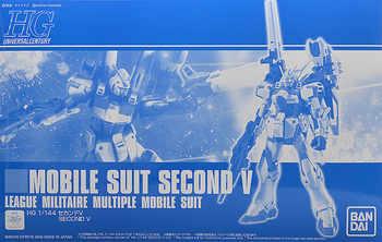 Original japonais Gundam HG 1/144 modèle deuxième V V2nd ligue MILITAIRE GUNDAM Mobile costume enfants jouets