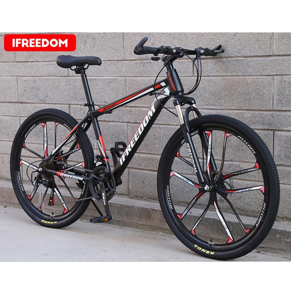 #H40 Hot Sale Mountain Bicycle Bike 26 Inch 21-speed Mountain Bike Bicycle Adult Student Outdoors adult Road Racing Bike