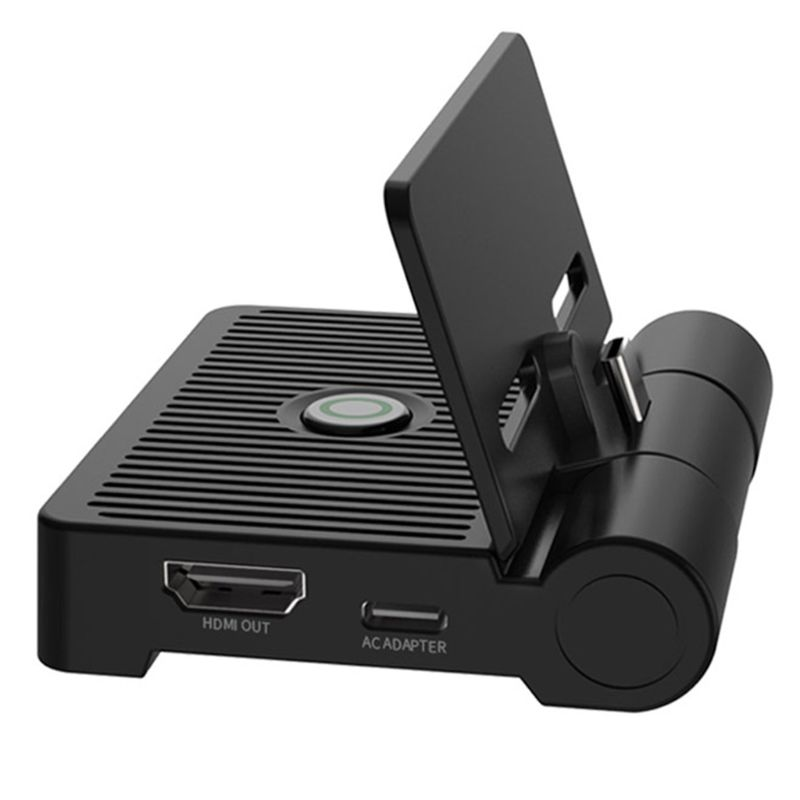 TNS-19305 HDMI Video Converter for Switch Host Charging Dock Station Portable TV Conversion Folding Base Games Accessories