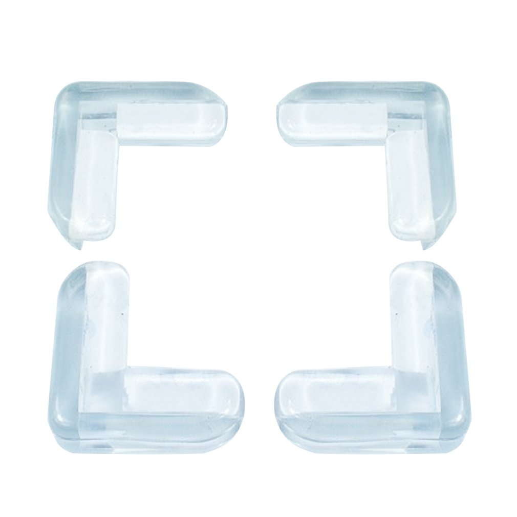 10 Pcs Transparent Thickened PVC Collision Protect Corners L-shaped Edge Angle Baby's Care Thicken Type