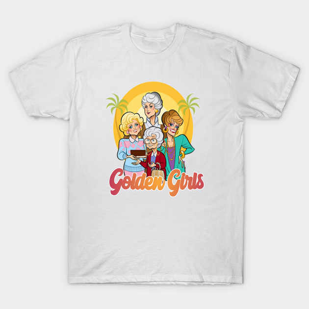 T-shirt da uomo Golden Girls tshirt Donna t shirt