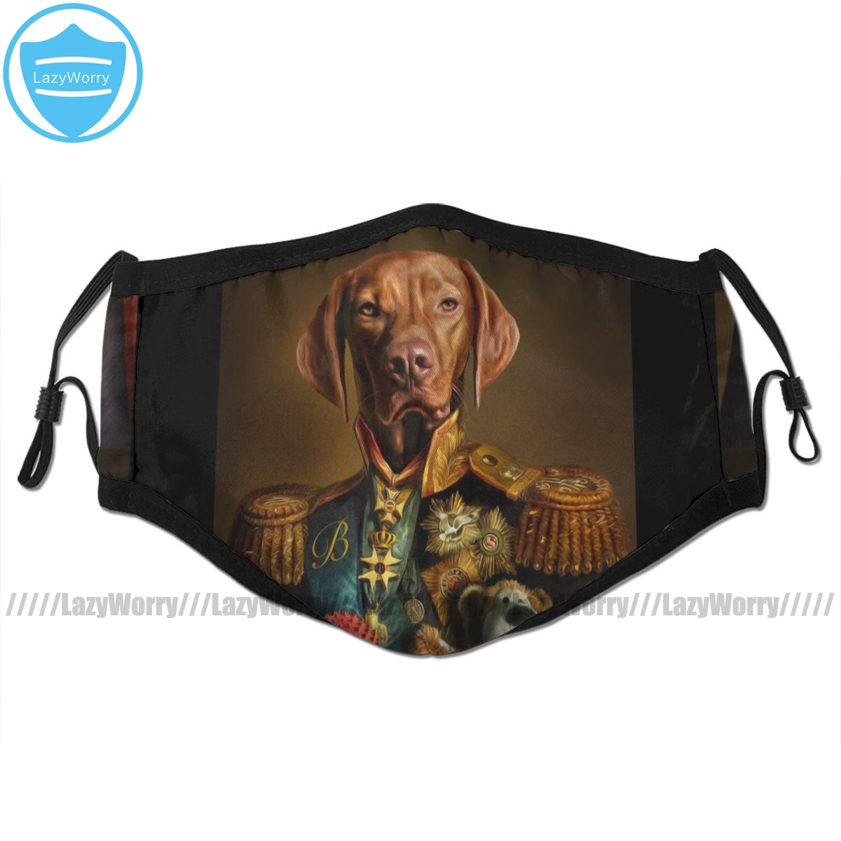 Vizsla Dog Mouth Face Mask Bertie The Hungarian Vizsla Facial Mask Fashion Cool With 2 Filters For Adult