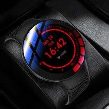 E 3 ساعة ذكية الرجال كامل شاشة تعمل باللمس ساعة مخصصة الطلب IP68 مقاوم للماء ساعة ذكية جديدة لنظام أندرويد IOS الرياضة جهاز تعقب للياقة البدنية