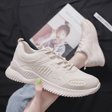 Breathable Fashion Sneakers Flat Platform Shoes Woman Casual Solid Lace-Up Ladies Shoes Low-cut Zapatos De Mujer High Quality 2019 hot womens fashion sneakers flying shoes platform shoes new woman casual low cut lace up high qualtiy europe brand design