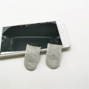 Image 3 - 10pcs Mobile Game Controller Fingertip Sleeve Anti Sweat Full Touch Screen Sensitive Fingertip Sleeves