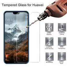 Explosion-proof Screen Protector For Huawei Y7 Pro Y5 Y6 Prime Phone Protective Glass for Huawei Y7 Prime Y9 2019 Tempered Glass 9d glass for huawei y7 y9 2018 protective glass for huawei y9 2019 y9 prime y7 prime 2019 jkm lx1 p smart z screen cover film