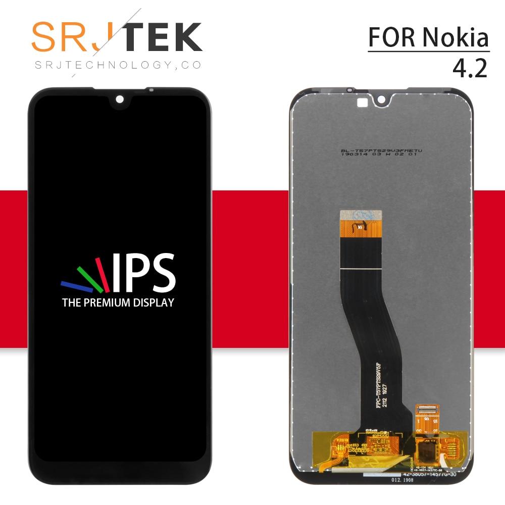 Para nokia 4.2 lcd n4.2 toque para nokia 3.2 display digitador assembléia sensor de vidro peças reposição para nokia 2.2 tela
