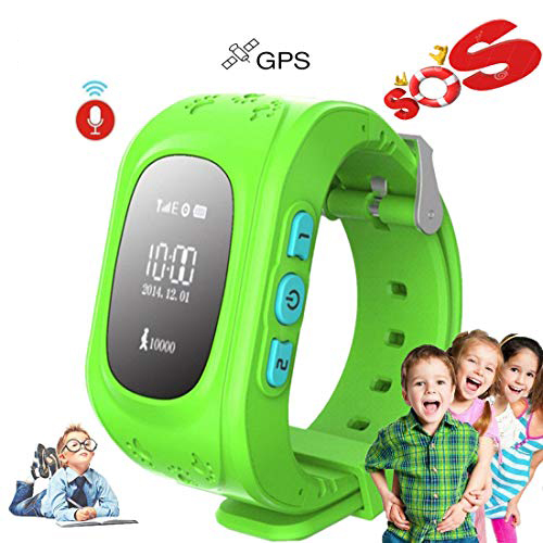 SKHO <font><b>Kids</b></font> <font><b>Smart</b></font> <font><b>Watch</b></font> Girls Boys Digital <font><b>Watch</b></font> with Anti-Lost SOS Button GPS Tracker Smartwatch Pedometer for IOS & Android image