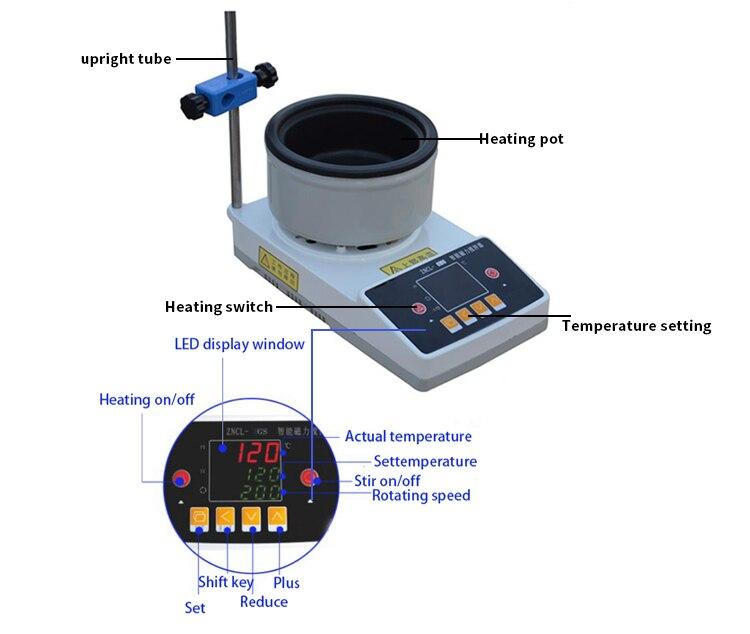 Ha82c36789d3f43138641621ca13222bfQ - Laboratory Equipment Magnetic Stirrer Electric Thermostat Heating Pot
