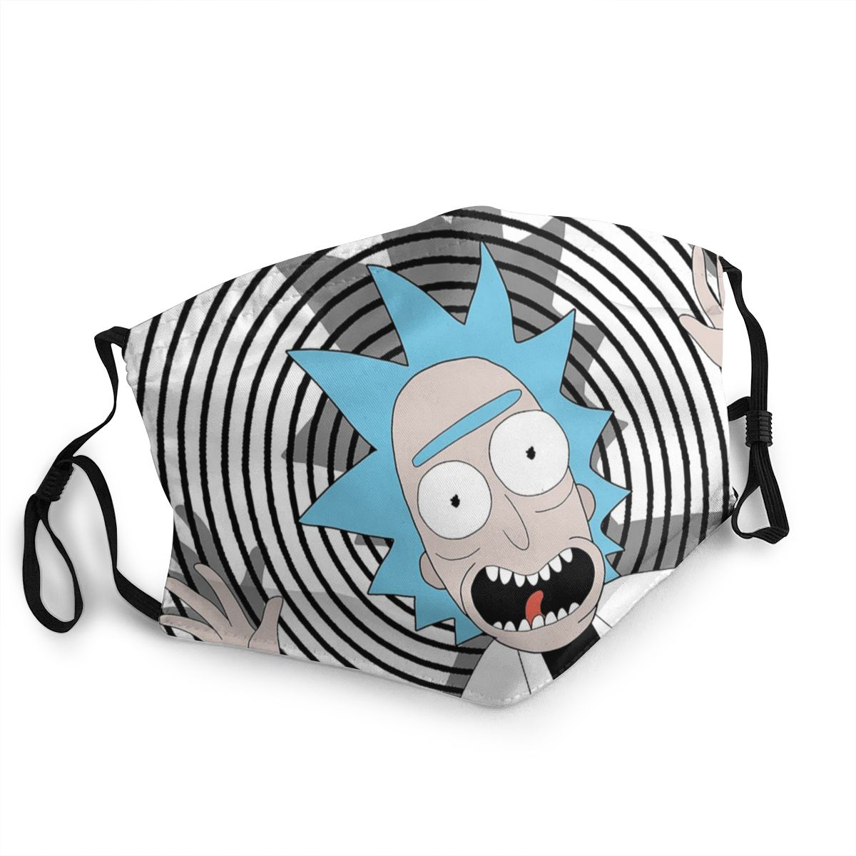 Rick Sanche Adult Reusable Mouth Face Mask Rick And Morty Anti Bacterial Dustproof Mask Protection Cover Respirator Mouth Muffle