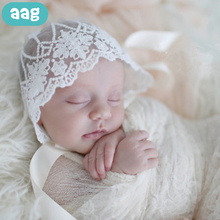 AAG Baby Tire Caps Lace Hat For Girls Boys Newborn Photography Props Infant Clothes