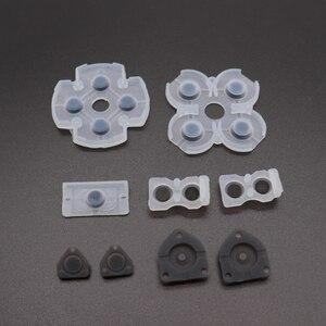Image 2 - Almofadas de borracha condutoras lr, tindong, melhor qualidade, para jdm001, jdm010, jdm030, ps4, controle dualshock, 4 botões, borracha de contato